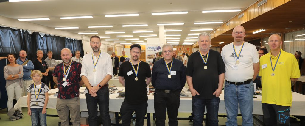 Medaljörerna i SM i modellbygge 2019